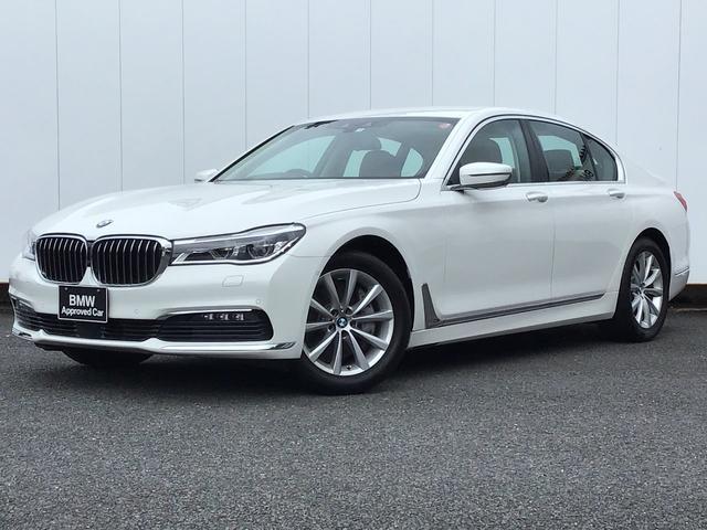 BMW 7シリーズ 740i 茶レザー 電動シート 全シートヒーター&クーラー 障害物センサー