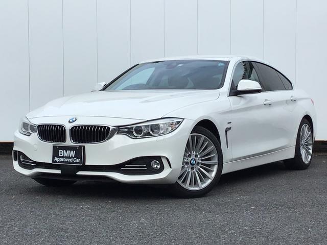 BMW 4シリーズ 420iグランクーペ ラグジュアリー アクティブクルーズコントロール ドライブアシスト ブラックレザー 純正HDDナビゲーション Blue Tooth コンフォートアクセス アイドリングストップ 18インチAW 1オーナー 禁煙車