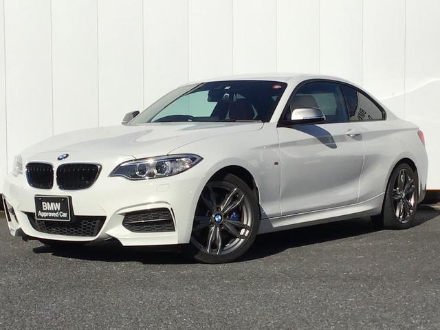BMW M240iクーペ レッドレザー シートヒーター 純正HDDナビゲーション クルーズコントロール ドライブアシスト コンフォートアクセス Rカメラ アイドリングストップ パドルシフト 18インチAW 1オーナー 禁煙車
