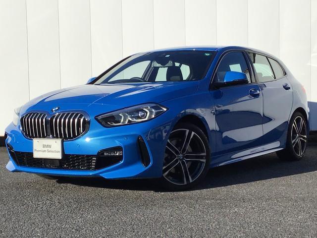 BMW 118i Mスポーツ ナビゲーションパッケージ コンフォートパッケージ アクティブクルーズコントロール ドライブアシスト SOSコール Blue Tooth マルチ液晶モニター 18インチAW ETC 1オーナー 禁煙車