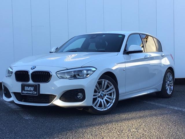 BMW 118d Mスポーツ パーキングサポートパッケージ コンフォートパッケージ 純正HDDナビゲーション Blue Tooth ミュージックサーバー LEDライト 17インチAW リアカメラ ETC 1オーナー 禁煙車