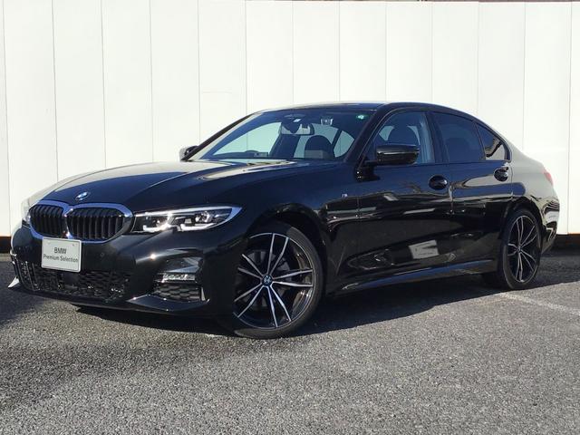 BMW 3シリーズ 320d xDrive Mスポーツ デビューP コンフォートP アクティブクルーズコントロール トップビューカメラ ブラックレザー 電動トランク 19インチAW LEDライト 純正HDDナビ Blue Tooth ETC 禁煙車