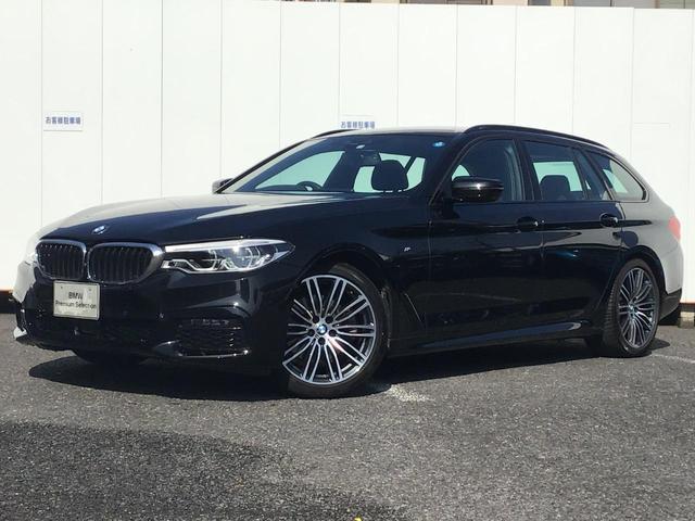 BMW 5シリーズ 523dツーリング Mスポーツ ハイラインパッケージ ブラックレザー アクティブクルーズコントロール ドライブアシスト トップビューカメラ コンフォートアクセス マルチ液晶メーター ハーマンカードンスピーカー ヘッドアップディスプレイ LED 禁煙車