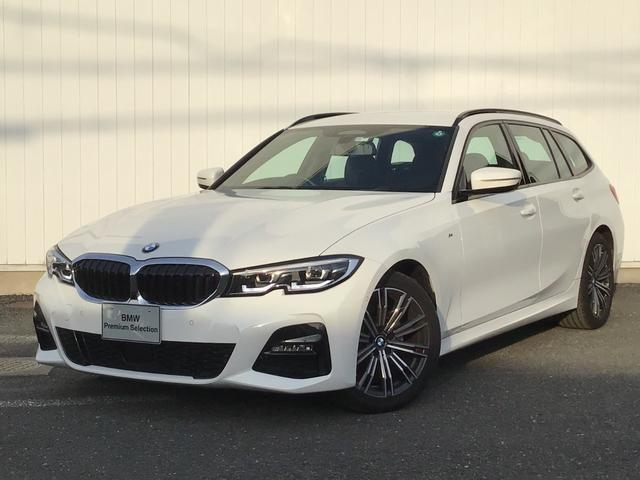 BMW 320d xDriveツーリング Mスポーツ アクティブクルーズコントロール ドライブアシスト ブラックレザー トップビューカメラ コンフォートアクセス マルチ液晶メーター アイドリングストップ Blue Tooth 18インチAW 禁煙車