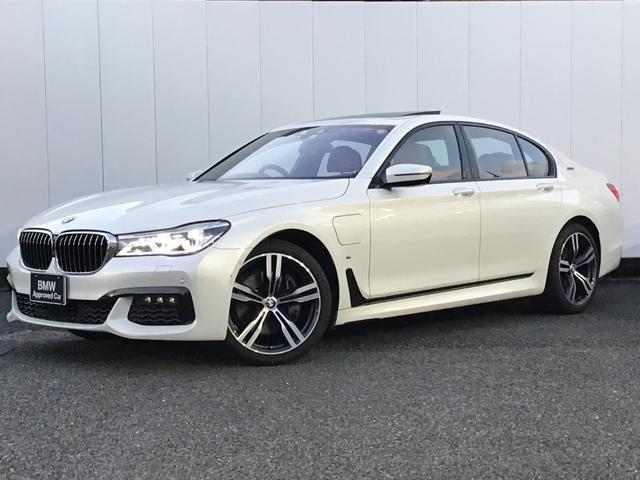 BMW 740eアイパフォーマンス Mスポーツ リアエンターテイメント アクティブクルーズコントロール トップビューカメラ ドライブアシスト コニャックレザー ハーマンカードんスピーカー ヘッドアップディスプレイ LED ETC 20AW 禁煙車