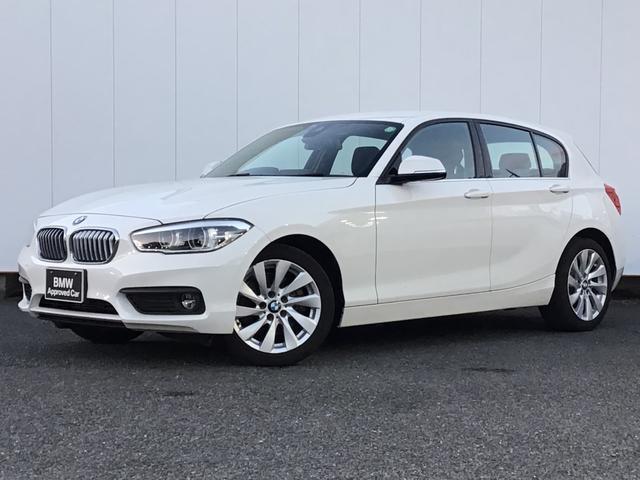 BMW 1シリーズ 118i セレブレーションエディション マイスタイル ブラックレザー シートヒーター クルーズコントロール リアカメラ リアパークディスタンスコントロール アイドリングストップ Blue Tooth 17インチAW LED ETC 1オーナー 禁煙車