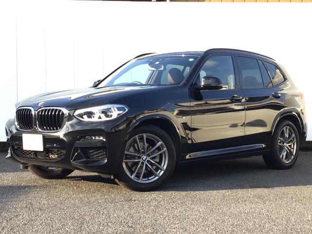 BMW X3 xDrive 20d Mスポーツハイラインパッケージ モカレザー アクティブクルーズコントロール ドライブアシスト トップビューカメラ 地デジチューナー ヘッドアップディスプレイ Blue Tooth コンフォートアクセス 19AW 1オーナー 禁煙車