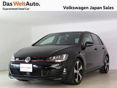 VW ゴルフGTIベースグレード ACC 純正ナビ DCCPKG 認定中古車