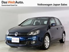 VW ゴルフTSIハイライン キセノンPKG 社外ナビ 認定中古車