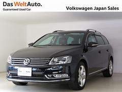 VW パサートヴァリアントTSIハイライン 純正ナビ レザーシート ETC 認定中古車