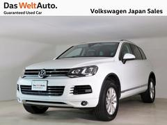 VW トゥアレグV6 ブルーモーションテクノロジー 全周囲カメラ 禁煙車