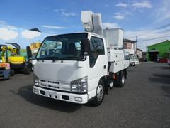エルフトラック高所作業車 アイチSH106 電工仕様