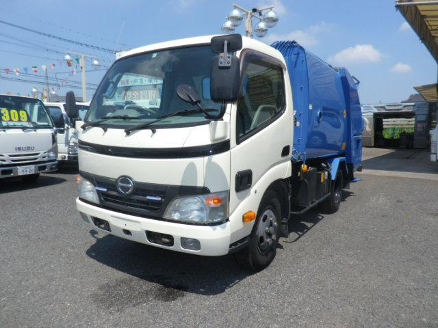 日野 2トンプレスパッカー車