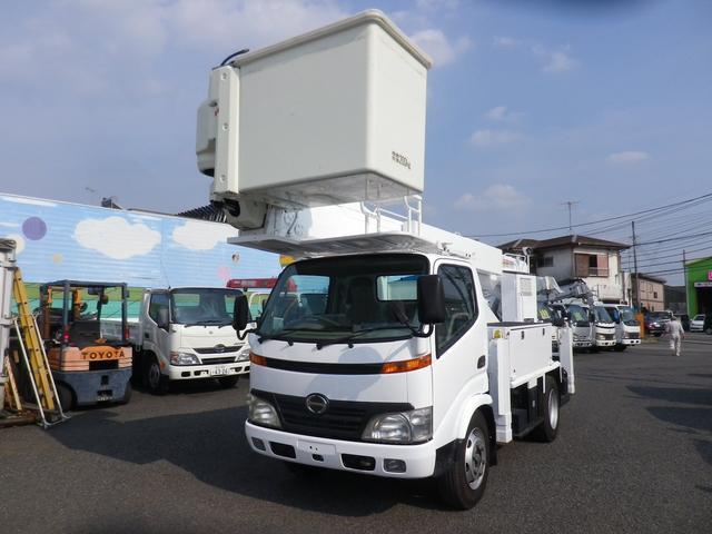 日野 高所作業車 タダノAT146TE サブエンジン付