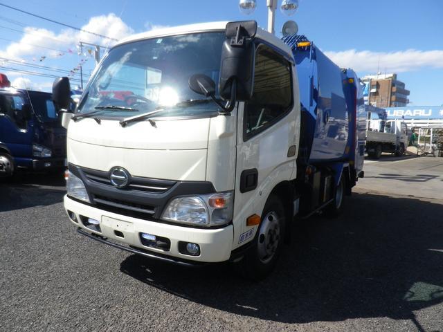 日野 プレスパッカー車 モリタ4.1m3
