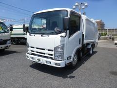 エルフトラックSG プレスパッカー車 フジマイティ4.3m3