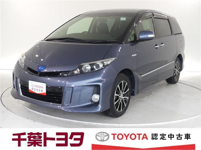 トヨタ アエラス レザーパッケージ フルセグTV HDDナビ 4WD