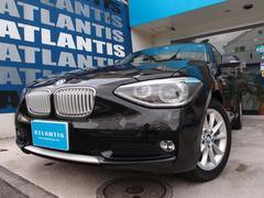 BMW116iスタイル 1オーナー ナビ TV Bカメラ ハーフ革