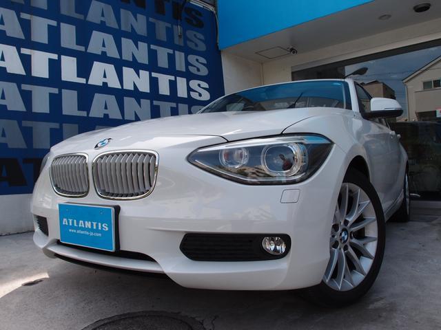 BMW 116i ファッショニスタ ベージュ革 ナビTV リアカメラ
