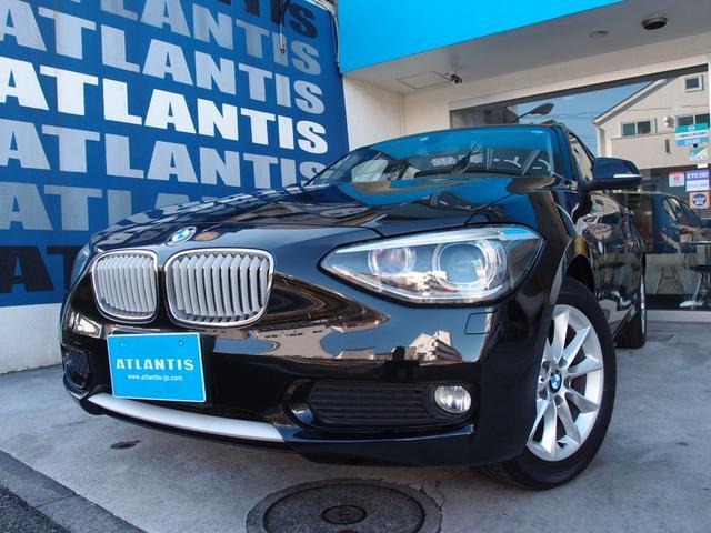 BMW 116i スタイル 1オーナー ハーフ革 ナビ リアカメラ