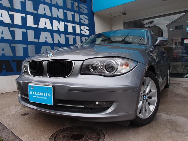 BMW 116i 後期直噴エンジン キセノン プッシュスタート ETC オートエアコン フォグランプ リアスモークガラス 純正AW