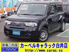 キューブ15X インディゴ+プラズマ HID VDC 純正ナビTV