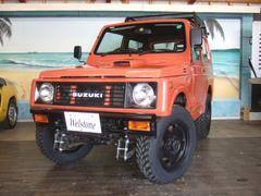 ジムニーランドベンチャー 4WD リフトアップ パイプバンパー