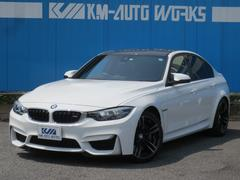 BMWM3 セダン ブラックレザー シートヒーター カーボンルーフ