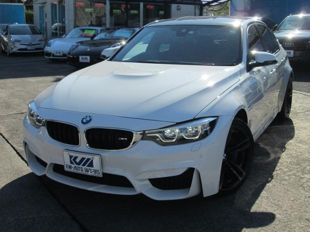 BMW M3セダン DCT ドライブロジック カーボンルーフ