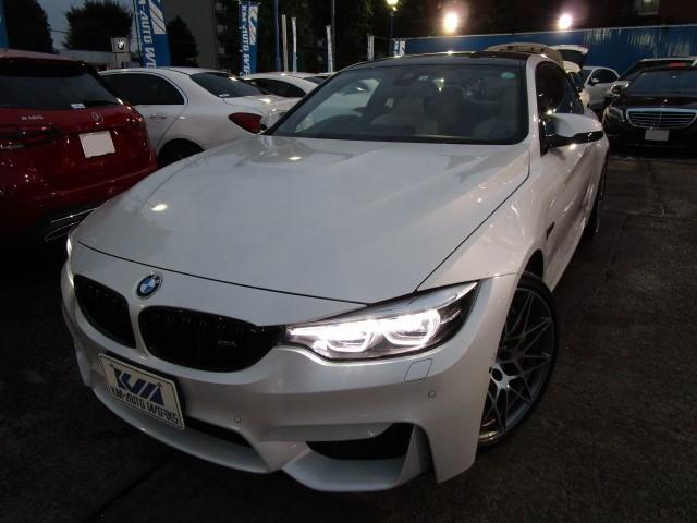 BMW M4 M4クーペ コンペティション パーキングサポートパッケージ カーボンルーフ アダプティブMサスペンション Mカーボンセラミックブレーキ