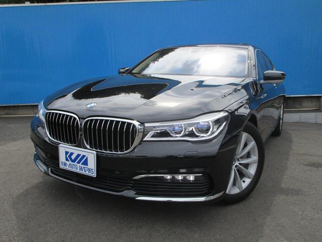 BMW 740d xDrive エクゼクティブ 電動ガラスサンルーフ ハーマンカードン16スピーカーサラウンドサウンドシステム 黒革 ヘッドアップディスプレイ BMWレーザーライト 360°カメラ
