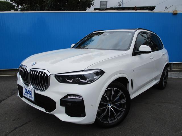 BMW X5 xDrive 35d Mスポーツ パノラマガラスサンルーフ 1オーナー ドライビングアシストプロフェッショナル パーキングアシストプラス
