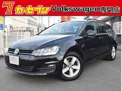 VW ゴルフヴァリアントTSIコンフォートラインプレミアムED ACC 純正ナビ