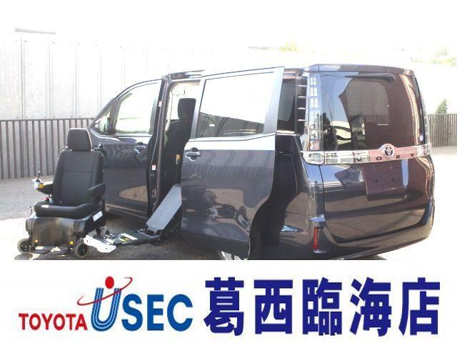 トヨタ Xウェルキャブサイドリフトシート脱着電動式A 左側パワードア