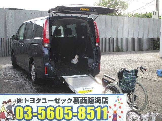 トヨタ Xi ウェルキャブ スロープI 車いす2脚仕様 電動ウィンチ