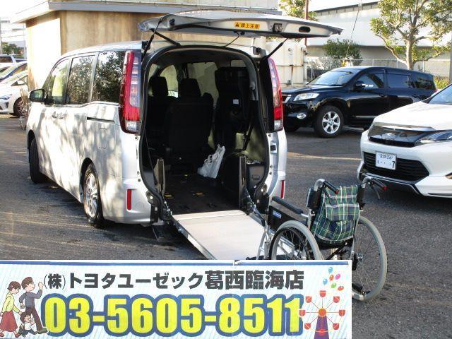 トヨタ Xi ウェルキャブ スロープI 車いす2脚 電動ウィンチ付