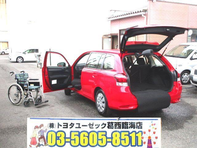 トヨタ 1.5 Xウェルキャブ助手席手動回転シート Bタイプ