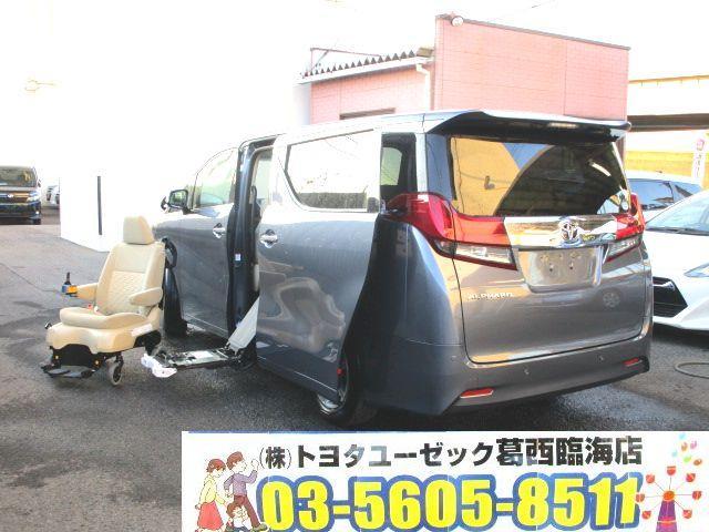 トヨタ 2.5 X サイドリフトアップシート脱着電動 LEDライト