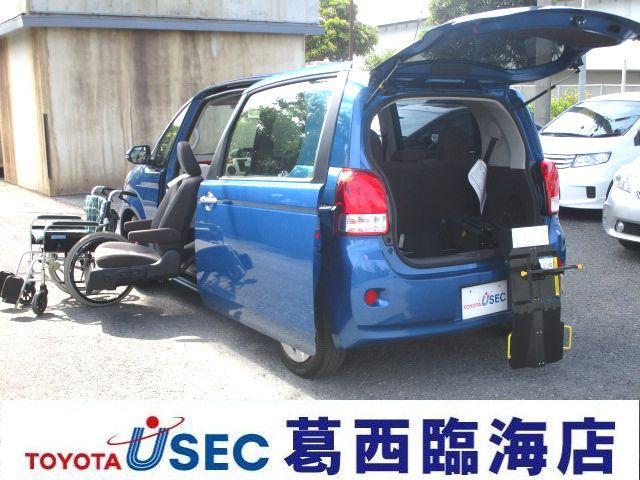 トヨタ X ウェルキャブ助手席リフトUPシートBタイプ TSSフォグ