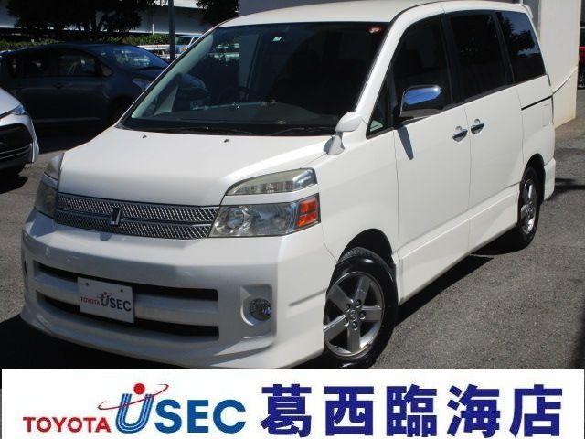 トヨタ ヴォクシー Z 煌 両側電動Sドア HID ETC (車...