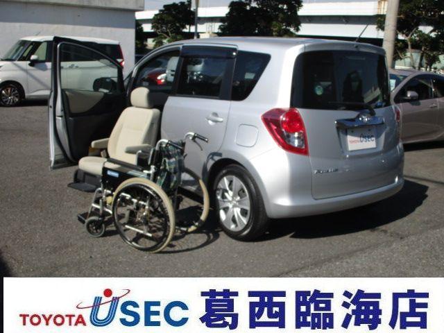 トヨタ ラクティス X助手席リフトUPシートAタイプ (車検整備付)