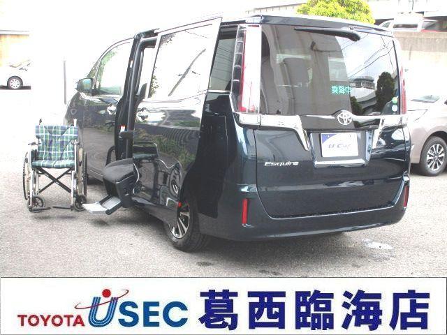 トヨタ XiサイドリフトUPチルトシート装着車 TSSC未登録デモ車