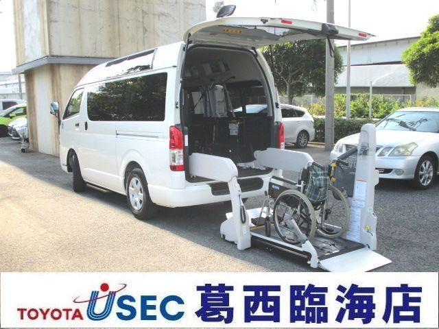 トヨタ 2.0G ウェルキャブ Fタイプ サイドウインド付 TSS無