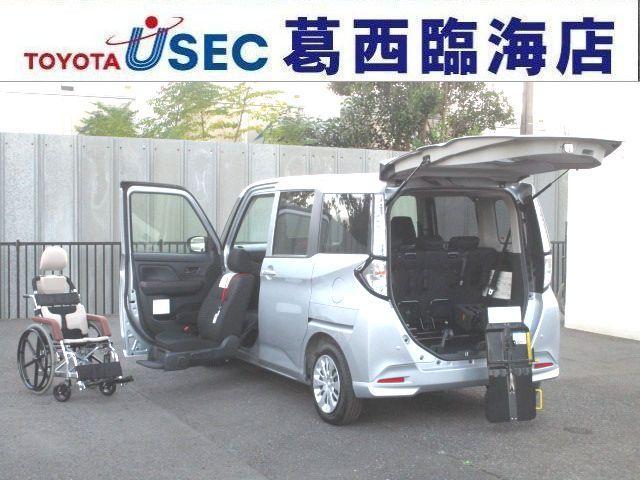 トヨタ X S ウェルキャブ 助手席リフトUPシート車 Bタイプ リアクレーン 左側パワースライドドア スマートキー スマートアシスト2 専用車いす付 消費税非課税車