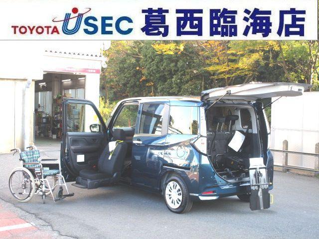 タンク(トヨタ) X S ウェルキャブ 助手席リフトUPシート車 Bタイプ リアクレーン 左側パワースライドドア 中古車画像