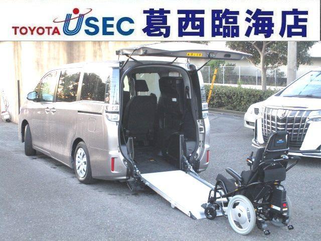 ヴォクシー(トヨタ) X ウェルキャブ 車いす仕様車 タイプ3 電動ウェルチェア+ワンタッチ固定仕様 スマートキー LEDライト 中古車画像