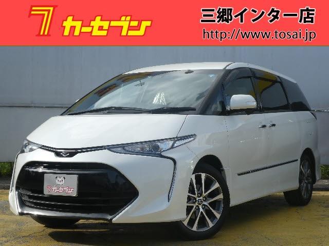 トヨタ アエラス スマート 茶合皮シート地デジナビ両側自動ドアETC