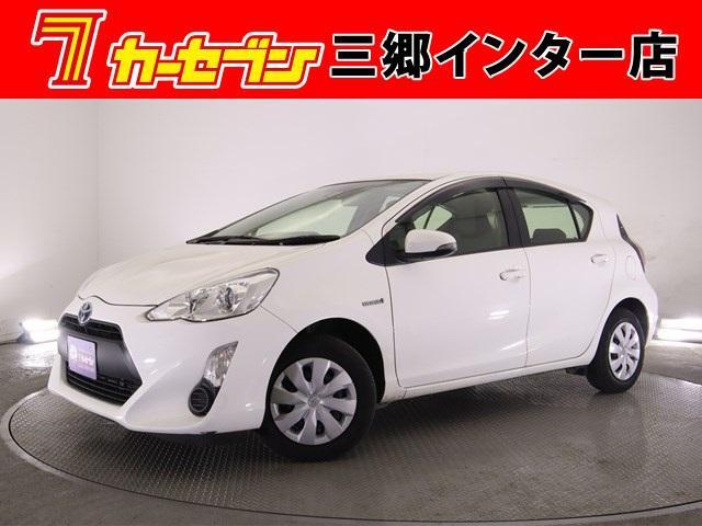 トヨタ アクア L 当社買取車 1オーナー SDナビ ワンセグ ETC 軽減ブレーキ