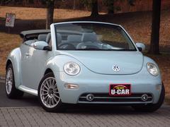 VW ニュービートルカブリオレワンオーナー禁煙車 電動オープン HDDナビ