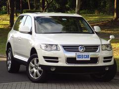 VW トゥアレグV6 後期 黒革 HDDナビTV Bカメラ プッシュスタート
